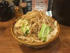 肉野菜すば@沖縄そば食堂 海辺のそば…