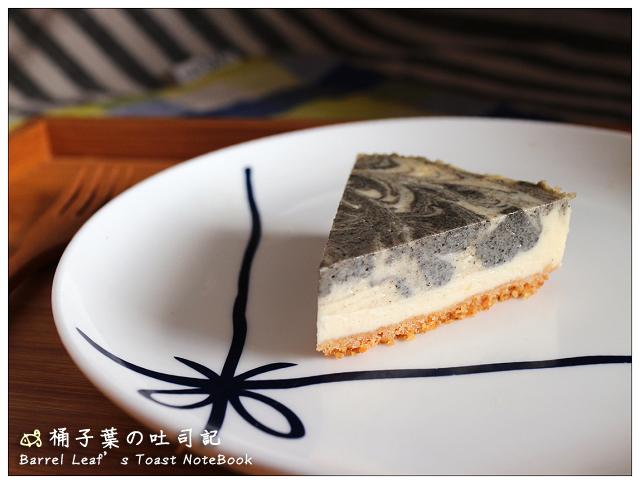 黑芝麻大理石起司蛋糕 Black Sesame Marbled Cheesecak