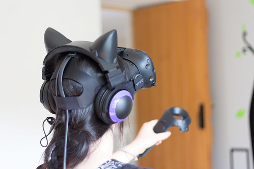 HTC Vive from behind