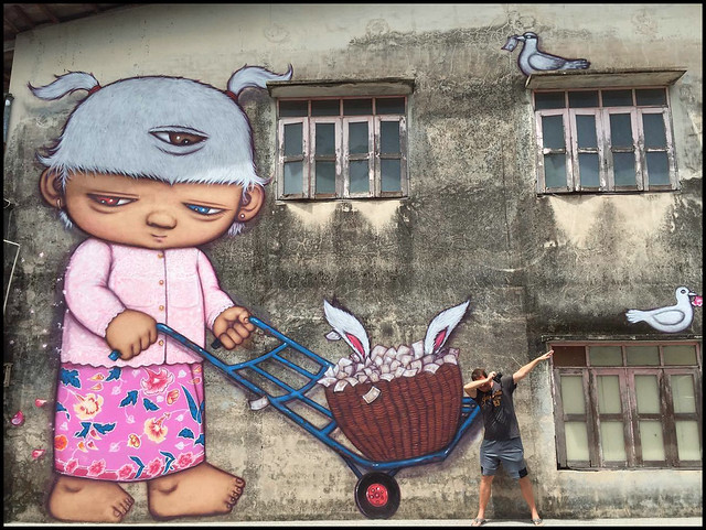 Phuket Town Street Art