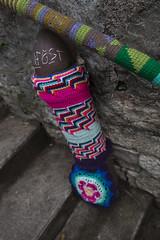 Yarn bombing Besançon 60