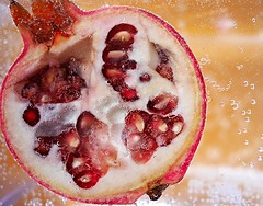 P is for Pomegranate.