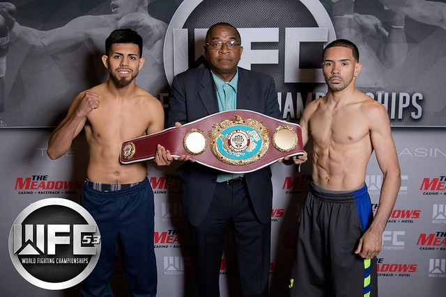 WFC 53 Weigh-Ins at the Meadows Racetrack & Casino June 17, 2016