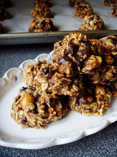 Carnival Cookies: Popcorn, Chocolate, Peanut