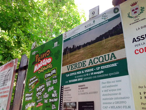 Mostra Verde Acqua a Cassano d'Adda by Ylbert Durishti