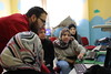 TYO Core Program Teacher leads an IT lesson for TWG