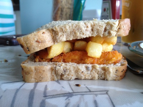 Dinner sandwich