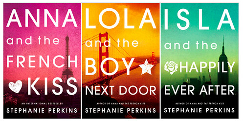 Stephanie Perkins New Covers (Including my Head Shot)