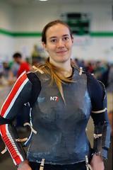 Commander Shepard, Mass Effect cosplay - ANS Sci-Fi & Comic Con 2013
