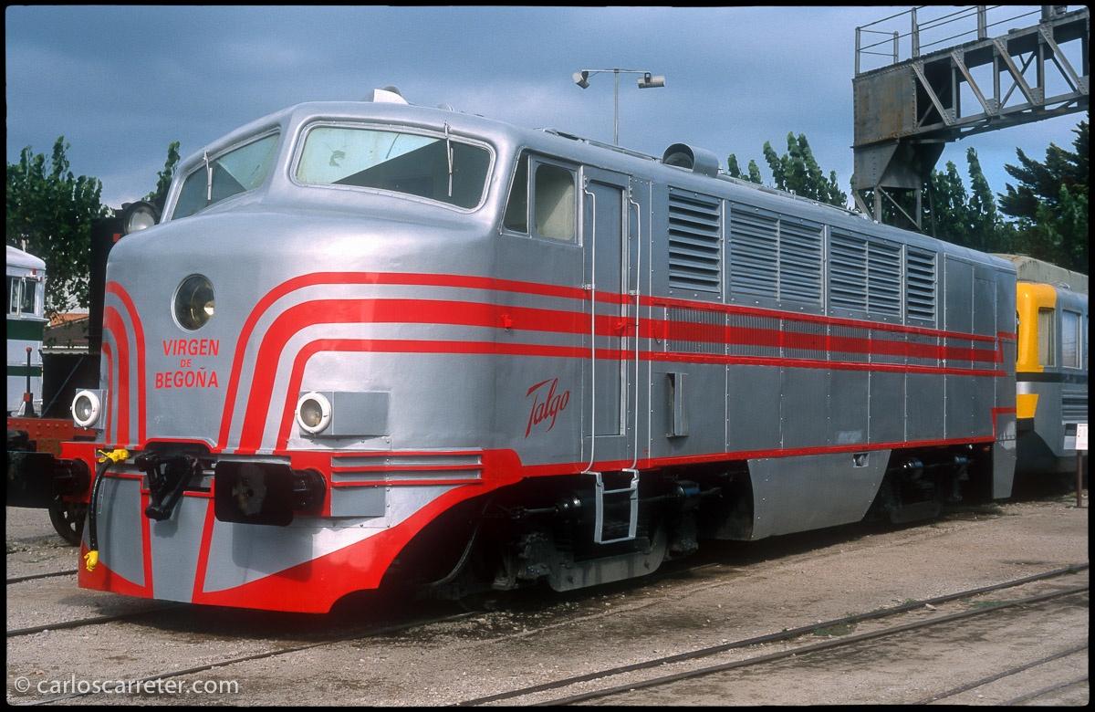 """Locomotora Talgo II """"Virgen de Begoña"""""""