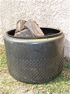 washer firepit