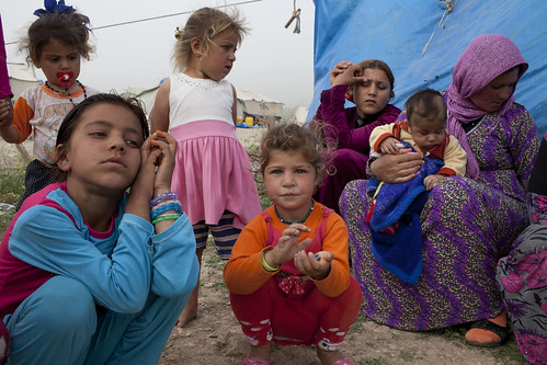 Crisis in Syria: Displaced families