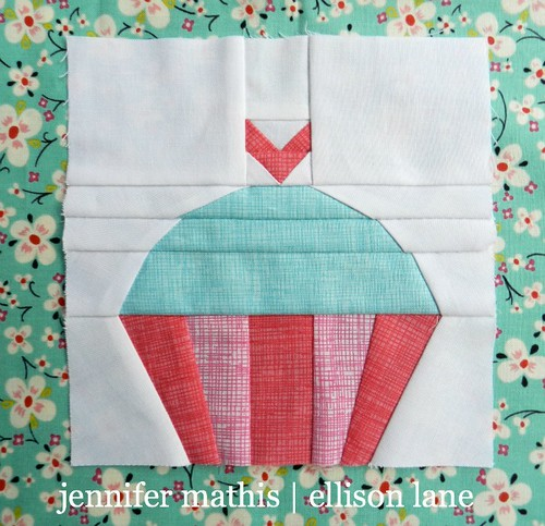 Cupcake- Block 3: Summer Sampler Sew Along