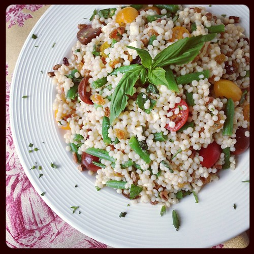 Lemony Couscous with Lots of Veggies