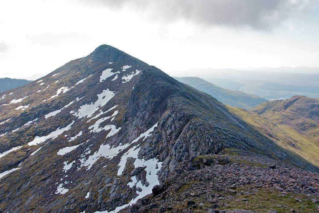 The ridge to Ben Cruachan