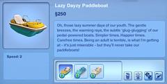 Lazy Dazy Paddboat