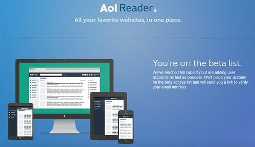 Тест AOL Reader