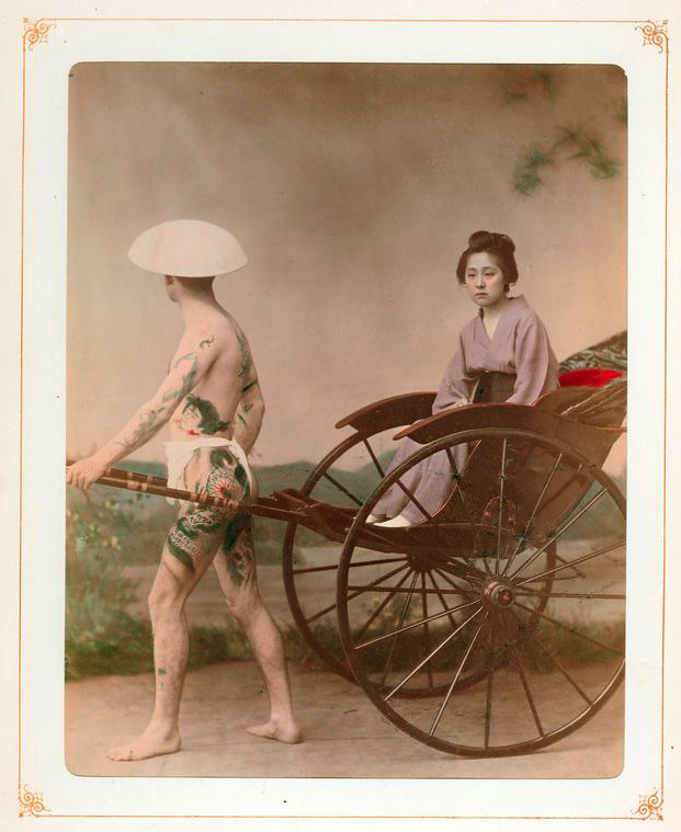 13) Japan rickshaw