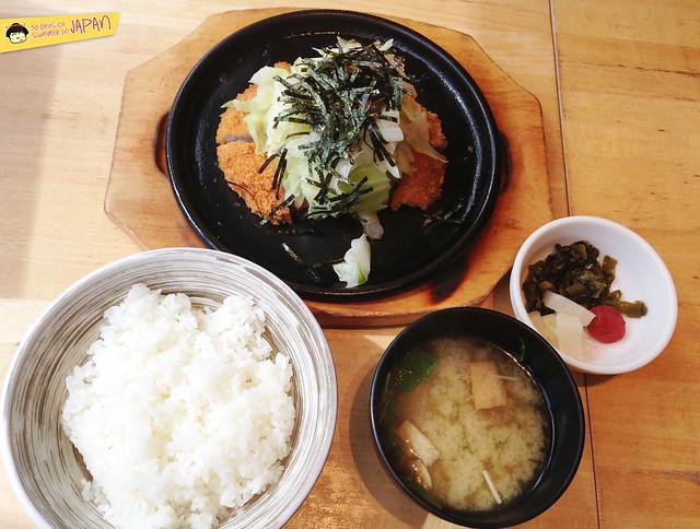 SUZUYA - TONKATSU CYAZUKE set lunch- akibaichi