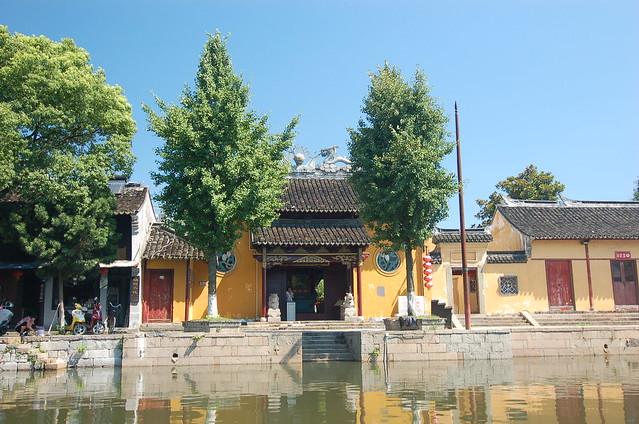 浙江西塘搭船 護國糧王廟