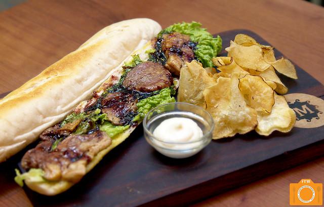 Mesclun Bistro Foie Gras Baguette Sandwich 2