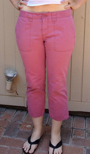 Sorta Sorbetto Top and Pink Pants