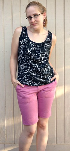 Sorta Sorbetto Top and Pink Pants - After