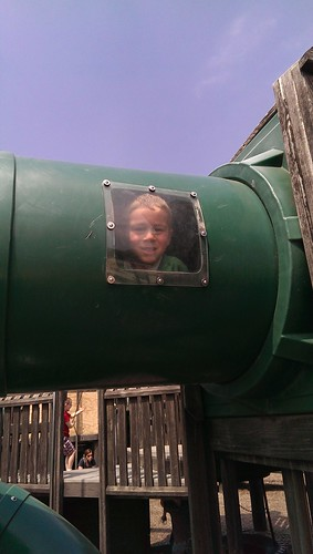 Christopher in Tube at Park