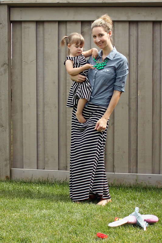 Big / Little Style: b&w stripes