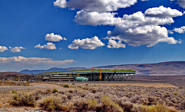 McGuiness Geothermal Power Plant - Nevada, USA
