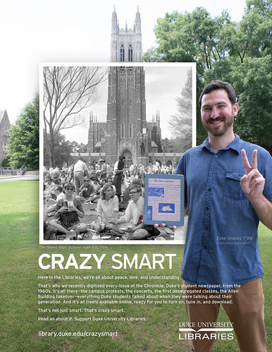 Crazy Smart Digitized Duke Chronicle