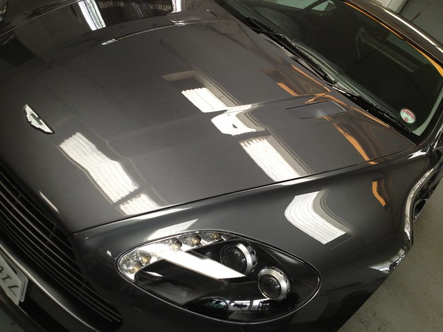 Aston Martin Vantage : Enhancement Detail Protected using C.Quartz Finest