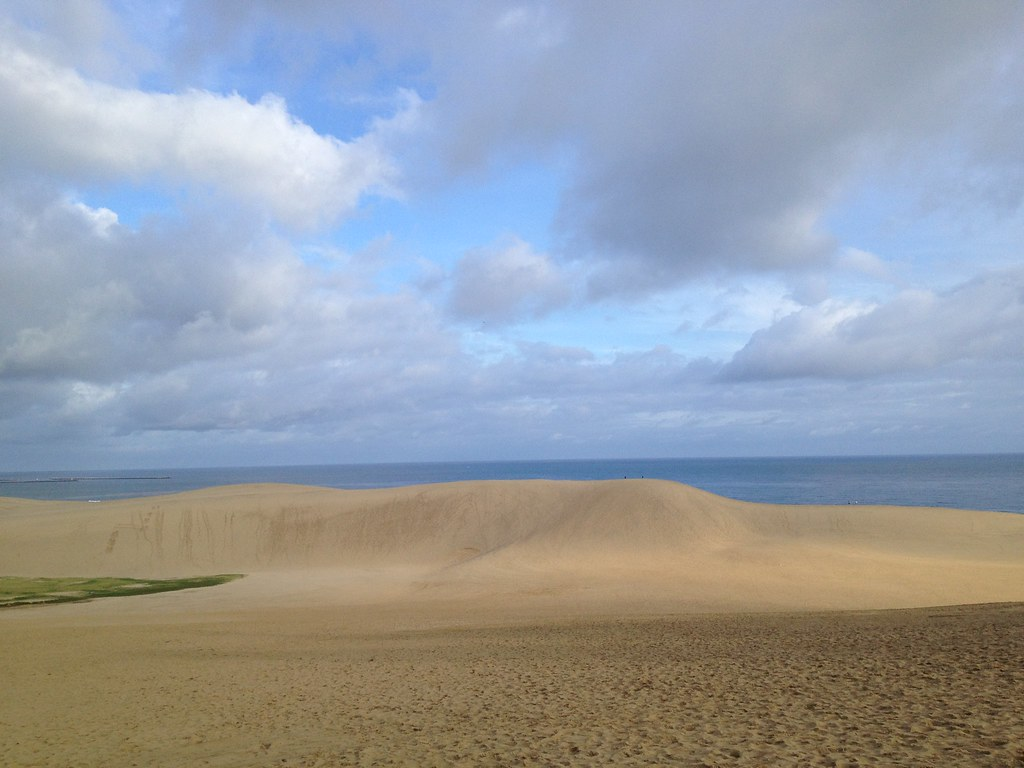 morning @ Tottori Sand Dunes