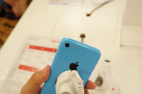 Apple iPhone 5c ピンク背面