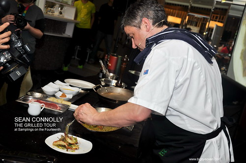 SEAN CONNOLLYTHE GRILLED TOUR at Samplings on the Fourteenth 11