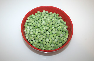 04 - Zutat Erbsen / Ingredient peas