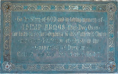 Photo of Philip Arwas marble plaque