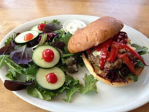 salad, burger, Jack's Prime, Belmont IMG_0598