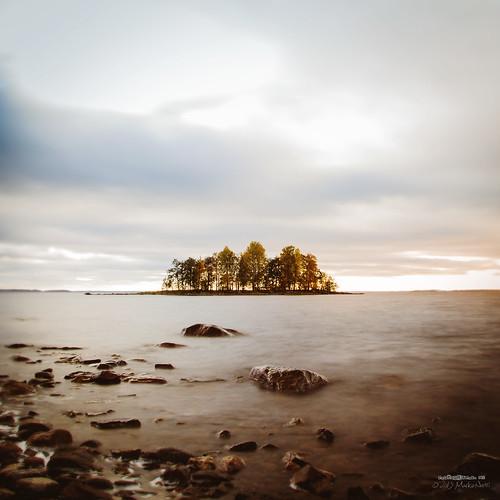 sky lake fall nature water canon suomi finland landscape islet vesi joensuu syksy luonto järvi taivas pyhäselkä kuhasalo valokuvaus
