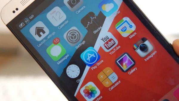 Лаунчер iOS 7 для Android
