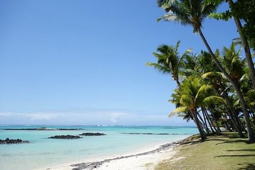 Saint Geran beach, Mauritius