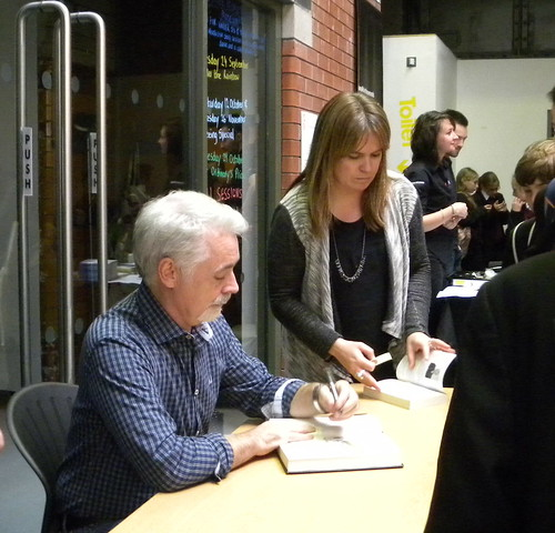 Eoin Colfer with Adele Minchin