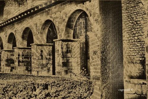 españa blancoynegro cat monocromo arquitectura monumento catedral iglesia bn catalunya texturas cataluña romanico lleida turistic turistico lerida romànic monumet església 2013 csgranell seud´urgel