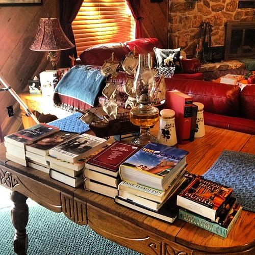 Last night's library book sale haul