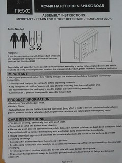 instructions first page