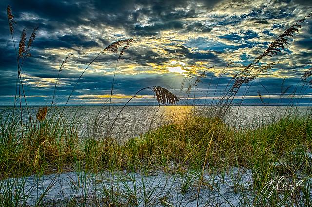 Sunrise over St. Joe Bay