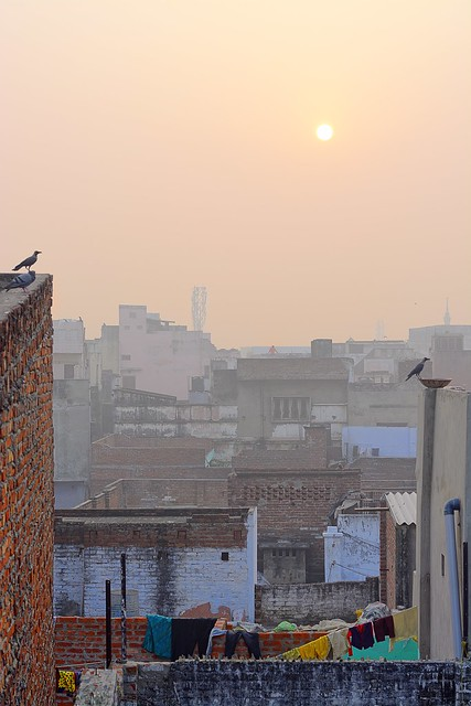 Sunrise Over the Mohalla