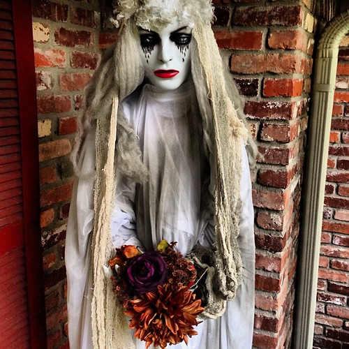 I made her a bouquet today. #halloween