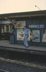 19670614 13 CTA Ravenswood L @ Kimball Ave
