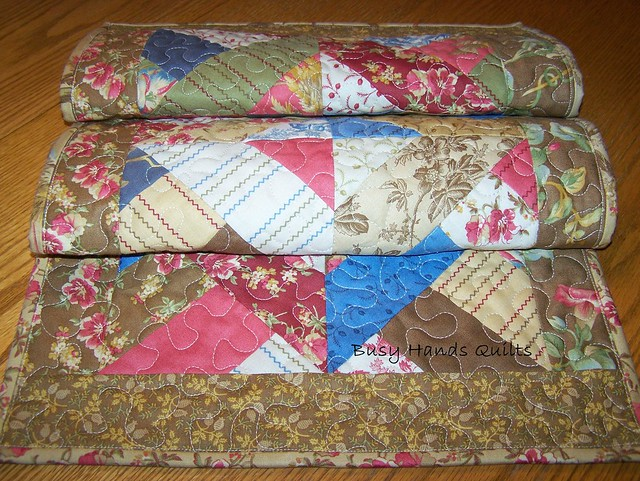 In the Meadow Tan Table Runner
